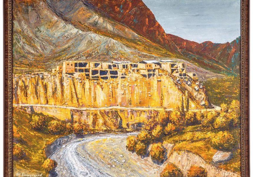 Картина старого села Корода