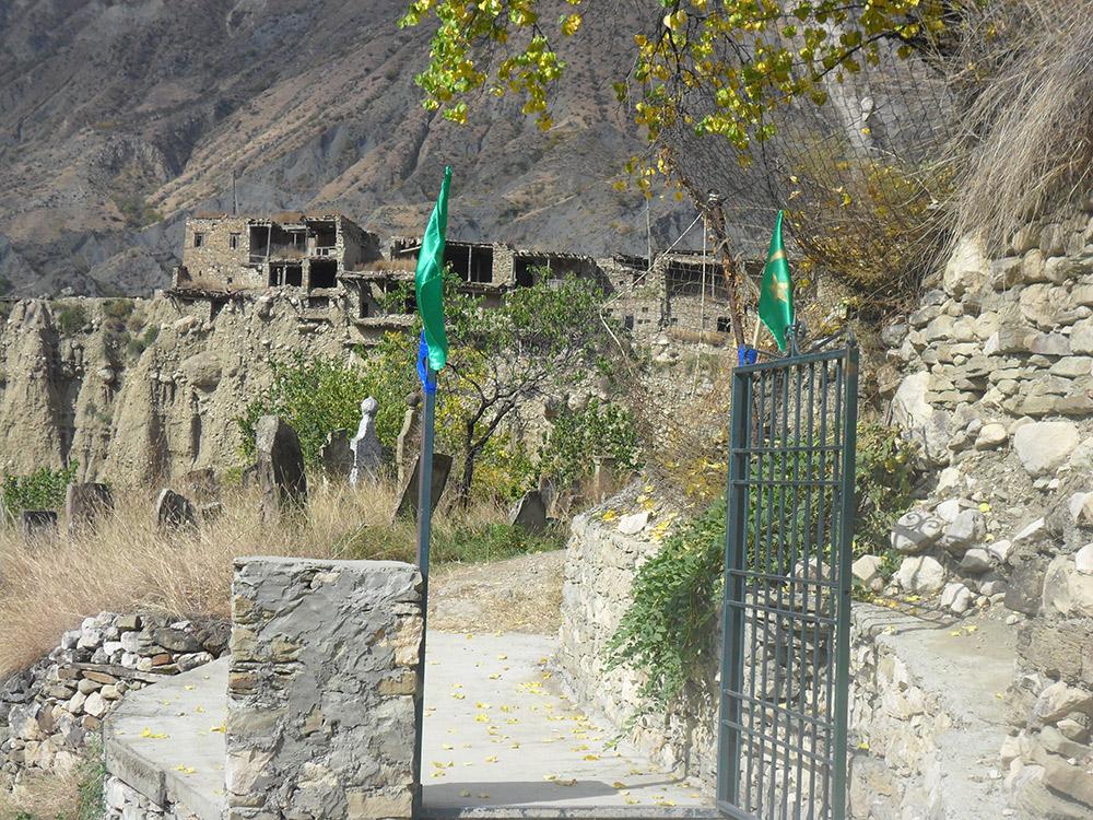 Вид села со стороны кладбища