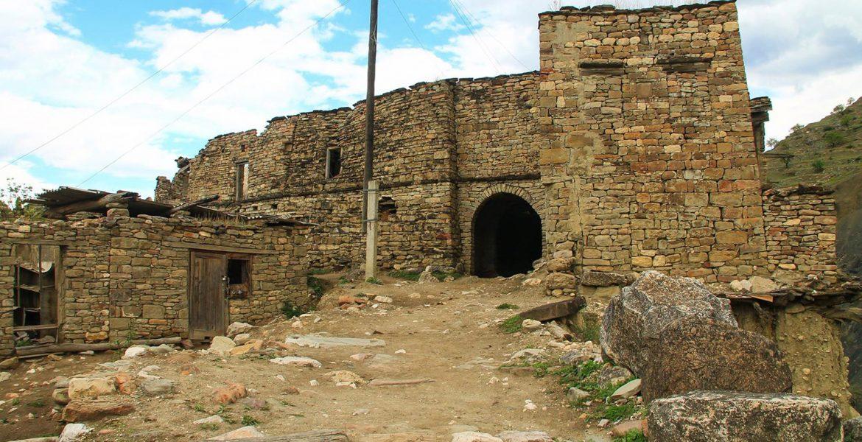 Старый аул Корода в Дагестане