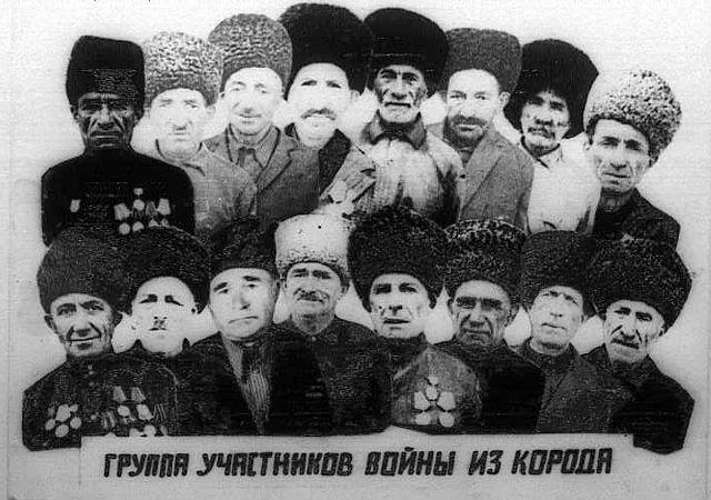 Ветераны ВОВ из села Корода