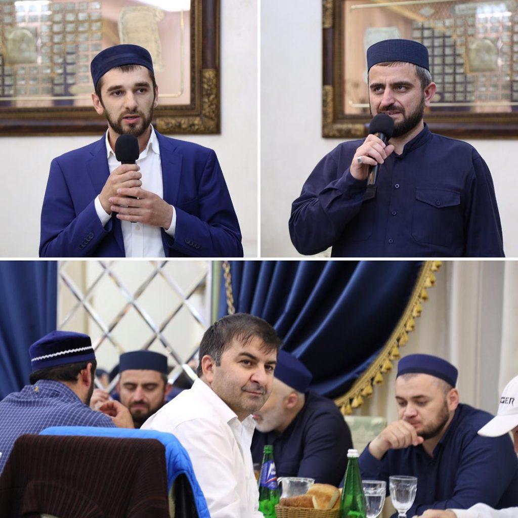 Коллективный маджлис-ифтар для выходцев Гунибского района