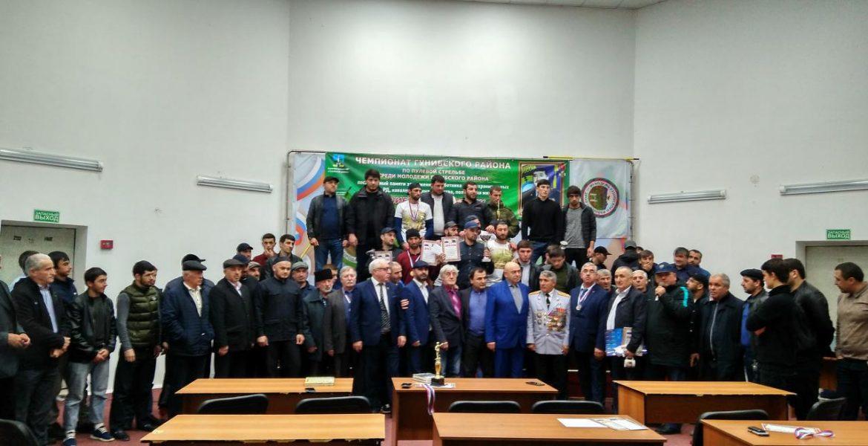 Чемпионат Гунибского района по пулевой стрельбе