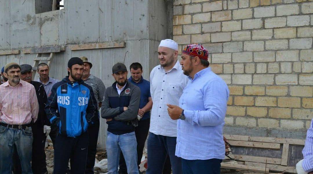 Делегация из Гунибского района посетила духовный центр