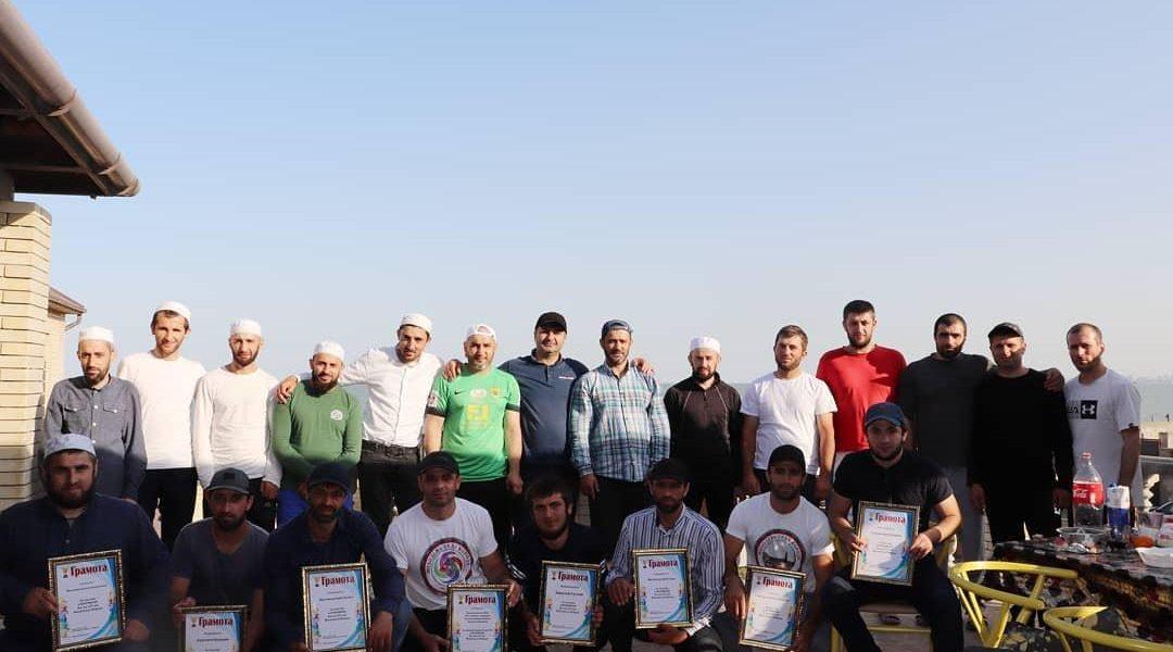 Церемония чествования участников марафон забега на 125 км