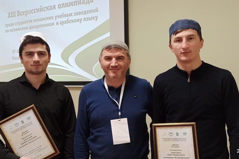 Призеры всероссийской олимпиады по исламским дисциплинам